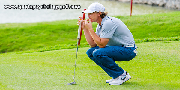 Golfers Who Get Distracted When Going Low