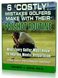 Golf Mental Game Report